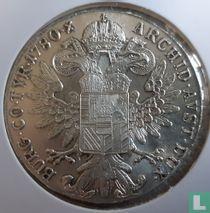 Oostenrijk 1 thaler 1780 (SF - naslag Italië)