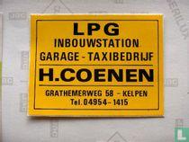 LPG inbouwstation - garage- taxibedrijf