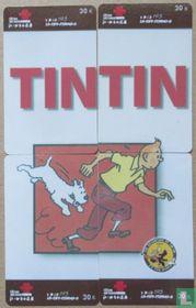Kuifje/ TinTin en Bobbie Rennend.