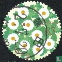 Groetzegels bloemen