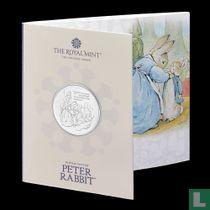 "United Kingdom 5 pounds 2021 (folder) ""The Tale of Peter Rabbit"""