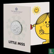 "United Kingdom 5 pounds 2021 (folder - colourless) ""50th anniversary Mr. Men & Little Miss - Little Miss Sunshine"""