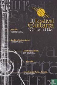 """III Festival de Guitarra """"Ciutat d'Elx"""""""