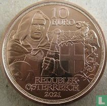 "Austria 10 euro 2021 (copper) ""Brotherhood"""