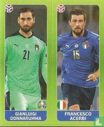Gianluigi Donnarumma / Francesco Acerbi