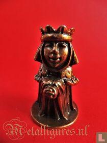 Koningin met ronde toren