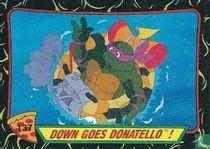 Down Goes Donatello!