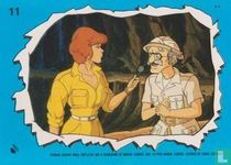 April O'Neil and archaeologist