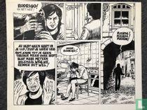 Luk Moerman (Lukas) - originele halve pagina - Torre Bela I 1987