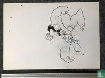 John Bakker - Blook - originele tekening - proefcover