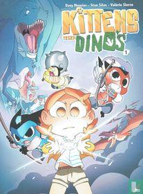 Kittens tegen Dino's