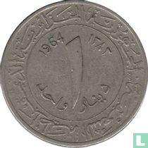 Algeria 1 dinar 1964 (AH1383)