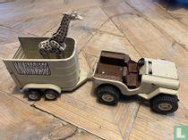 Jeep Safari and trailer