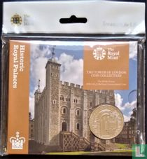 "United Kingdom 5 pounds 2020 (folder) ""The White Tower"""