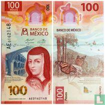 Mexico 100 Pesos 2020