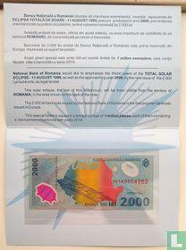 Romania 2,000 Lei 1999