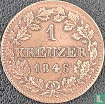 Bavaria 1 kreuzer 1846