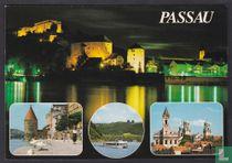 Passau bei Tag und Nacht
