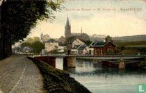 Maastricht gezicht op St. Pieter