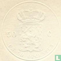 Reliefzegel 0,50 + 50 opcenten