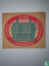 Alfa Hotel - brasserie d Esch