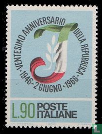 20 years Republic of Italy for sale