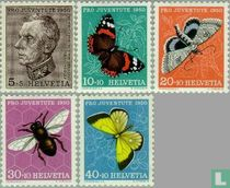 Schmetterlinge - Pro Juventute