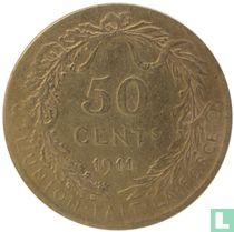 België 50 centimes 1911 (FRA)