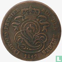 België 2 centimes 1842