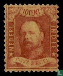 Koning Willem III - 2e emissie