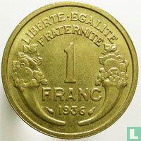 Frankrijk 1 franc 1936