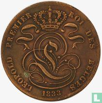 België 5 centimes 1833