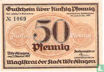 Nördlingen 50 Pfennig