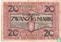 Frankfurt 20 Mark