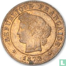 France 1 centime 1872 (A)