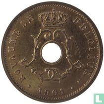 België 5 centimes 1901