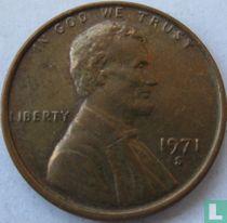 Vereinigte Staaten 1 Cent 1971 (S - Typ 1)