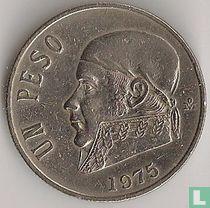 Mexico 1 peso 1975 (lange datum)