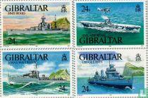 1993 World War II Warships (GIB 166)