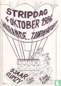 Stripdag 4 oktober 1986 Warande, Turnhout - 5 jaar Clumzy
