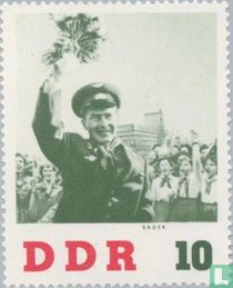 Bezoek kosmonaut Titov
