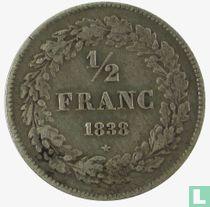 België ½ franc 1838