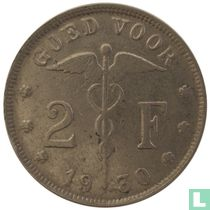 België 2 francs 1930 (NLD)