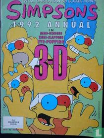 Simpsons 1992 Annual  in  3-D