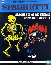 Spaghetti op de kermis + Code pruimenvla
