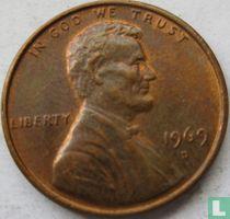 Vereinigte Staaten 1 Cent 1969 (D)