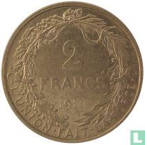 België 2 francs 1911 (FRA)