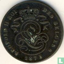 België 2 centimes 1875