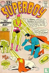 The man who ownes Superboy's costume!