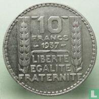 Frankrijk 10 francs 1937